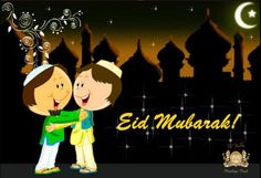 May Allah's blessings be with you today & always !!.  Eid Mubarak to all .... :)  #EidMubarak