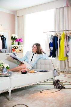 Olivia Palermo at home in NYC