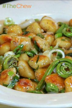 Try sautéing your gnocchi instead of boiling it for this crispy, yet fluffy Gnocchi with Spring Vegetables version from famed chef Jonathan Waxman.