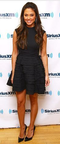 Dress - Camilla and Marc Shoes - Christian Louboutin Same dress in a different color Same shoes in nude