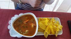 Asopao de camarones,Restaurante Hot Pirulis, Añasco PR