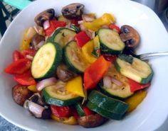 mediterranes Gemüse (sous-vide)