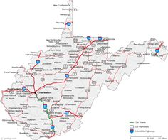 Map Of Kentucky Cities TravelAmerica Pinterest Kentucky - Road map of kentucky