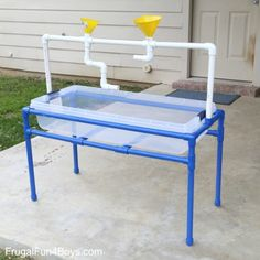 How to Build a PVC Pipe Sand and Water Table