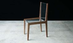 Contemporary chair / in wood 0149 JOHN HOUSHMAND