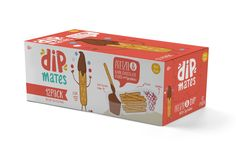 DipMates Snacks on Packaging of the World - Creative Package Design Gallery