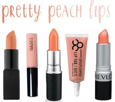 Nars Honolulu Honey | Mac Lipglass in Florabundance | MAC Lipstick in Sweet & Sour | Lip Tar in Interlace | Revlon Lip Color in Smoked Peach