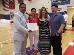 Melissa Iglesia Chan received The Grace Reynolds Scholarship during the Goshen High School Awards Dinner this year.