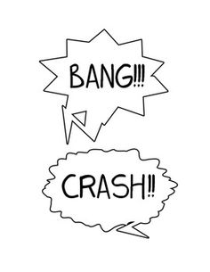 Onomatopoeia Comic Book Lesson - fun for all kinds of lessons. Students use weekly vocabulary to make a comic strip, make a comic strip about character education skills, or based on the story/book they're reading.