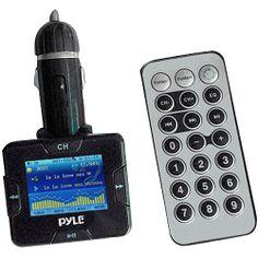 Pyle Audio Plug-In Car MP3 iPod Wireless FM Transmitter - Walmart.com $14