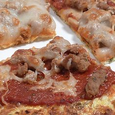 Low Carb Cauliflower Crust Pizza - Food Stories Blog