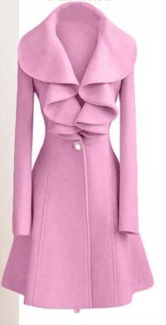 Shop SODIAL(R) Fashion Womens Slim Wool Warm Long Coat Jacket Trench Windbreaker Parka Outwear Pink Size L. Pink Wool Coat, Pink Peacoat, Pink Trench Coat, Pea Coat, Pink Coats, Wool Coats, Wool Overcoat, Tweed Coat, Women's Coats