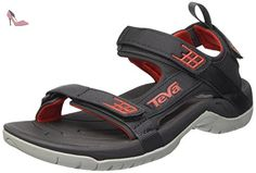Teva M Tanza M, shoes homme - Multicolore (Dark Shadow/Red Dswr), 39.5 EU - Chaussures teva (*Partner-Link)
