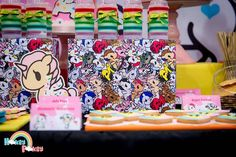 Stationery from a Tokidoki Unicorno Themed Birthday Party via Kara's Party Ideas | KarasPartyIdeas.com (6)