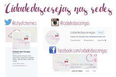 O Blog nas redes sociais | Cidade das Cerejas: O Blog nas redes sociais