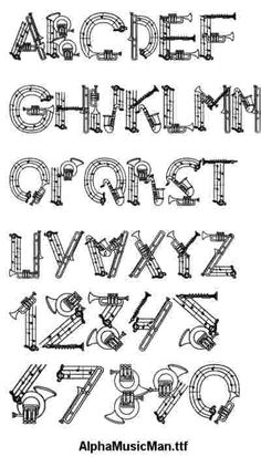 Decorative Alphabets for Illustrated Lettering Styles