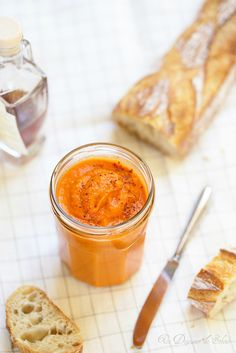 Un dejeuner de soleil: Caviar de poivrons rôtis