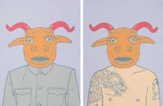 modern interpretation of the chinese zodiac's 12 symbolic animals by beijing-based artist CUI QIANG /// NeochaEDGE ///