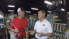 Sportsmans Factory Outlet with Retail Store Manager Jim Lovan