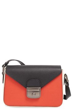 Longchamp 'Small Le Pliage - Heritage' Leather Crossbody Bag available at #Nordstrom