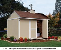 Backyard Buildings' storage sheds are built on-site and we even include free delivery and Installation. Find quality easy-to-customize storage sheds for sale here. Storage Sheds For Sale, Shed Storage, Traditional Sheds, Clutter Solutions, Backyard Buildings, Outdoor Structures, Costco, Easy