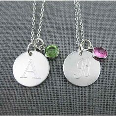 Personalized Initial Sterling Silver by JCPersonalizedGifts