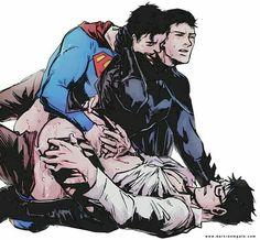 6/18/17  10:56p  DC  Superman  & Batman, Clark  yaoi.com