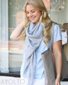 The light and breezy square scarf