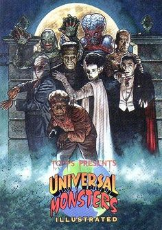 Universal Monsters!!!