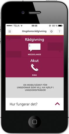 Youth Social Service for Skellefteå Municipality Social Services, Acute Accent