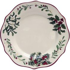 better homes and gardens heritage dinner plate set of 6
