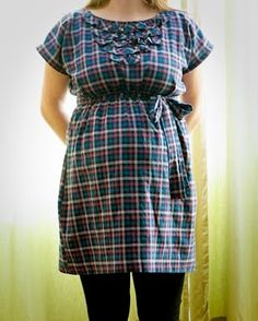 Presserfoot.com: Maternity or Not Frock : Materials