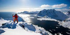 une-bande-de-mecs-sympas: Lofoten Island - 2011 - Bruno Compagnet - skis: Blackcrows Nocta - Photo : Sverre Hjornevik