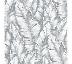 NextWall Baha Banana Leaves Peel and Stick Wall paper Roll