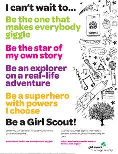 #CantWait #GSWeek Recruitment Flyer 8.5x11