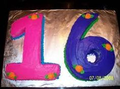 Image result for 16th birthday cake images 16 Birthday Cake, 16th Birthday, Number Cakes, Cake Images, Party, Cake Pictures, Fiesta Party, 16th Birthday Cakes, Parties