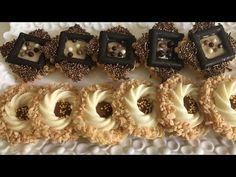 الحلقة 134: صابلي بريستيج رائع في المذاق وحتى المنظر 😋😋👍👍👍 - YouTube Make Ahead Desserts, Mini Desserts, Sweet Desserts, Edible Cookies, Edible Cookie Dough, Old Fashioned Donut, Banana Pudding Cheesecake, Popcorn Cake, Gourmet Food Store