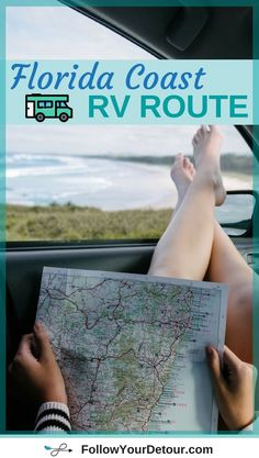 Looking for a great route along the coast of #Florida for your RV road trip? This one features 5 great Florida State Parks, beautiful beaches like Clearwater, awesome cities like St. Augustine, sunsets, and water front parking. It also recommends things to do in each area. Whether you're full-time RVing, on vacation, or camping for the weekend you'll love these campgrounds! Tips from a couple who are living and travel in their RV! #RVlife #roadtrip #beach #RVliving #goRVing #RV #RVing…