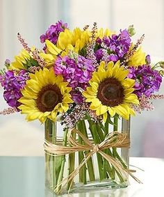 unique floral arrangements | Sunflowers, unique flower arrangements, Carithers Florist Atlanta Like ...