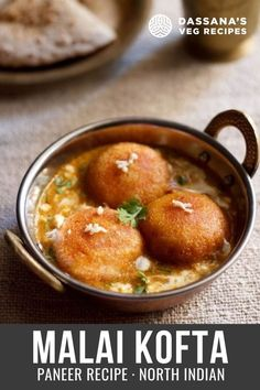 Delicious Melt in the Mouth Malai Kofta in a creamy, rich, mild and lightly sweet onion tomato based gravy.