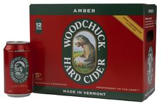 Woodchuck Hard Cider 12 Pack Amber Cans! You asked for it, you got it. The classic Woodchuck® Amber in a can. Both durable and portable, its rugged digs are built for outdoor adventure. It's the same can-do attitude that originated in our two-car garage back in 1991. Woodchuck® Hard Cider. Handcrafted in Vermont. Independent to the Core.