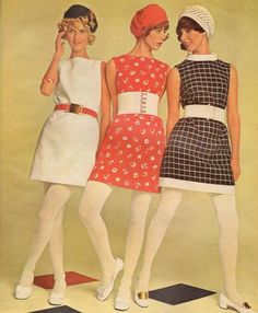1960s Minis and White Tights