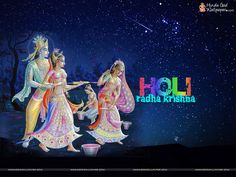 Radhe Krishna Holi Wallpapers Download