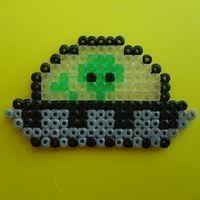 Hama beads UFO