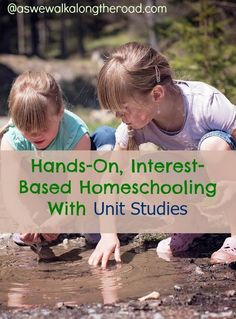 Do you want a homeschooling method that lets kids do more than read a textbook or fill in worksheets? Try unit studies.