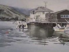 Watercolor - Simple Reflections with Birgit O'Connor - YouTube