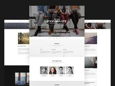 Secret | Creative One Page Html5 Template by Alexander Samokhin
