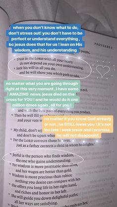 Bible Verses Quotes, Jesus Quotes, Bible Scriptures, Faith Quotes, Life Quotes, Bible Verses About Worry, Bible Art, Bible Notes, Bible Study Journal