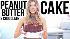 BAKING WITH MEGHAN: PEANUT BUTTER CUP CAKE