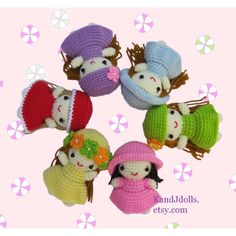 Free Dolls and Doll Clothes Crochet Patterns                                                                                                                                                      More